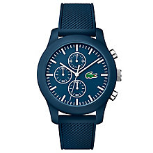 Lacoste Men's Blue Silicon Strap Watch - Product number 6412408