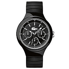 Lacoste Men's Black Leather Strap Watch - Product number 6412432