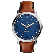 Fossil Men's Stainless Steel Strap Watch - Product number 6413099