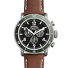 Shinola Runwell Sport Men's Stainless Steel Strap Watch - Product number 6413382
