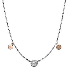 Emporio Armani Silver Charm Necklace - Product number 6413838