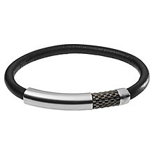 Emporio Armani Men's Leather Bracelet - Product number 6413862