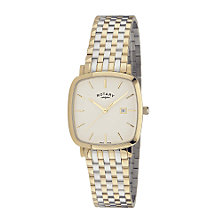 Rotary men's two colour bracelet watch - Product number 6415245