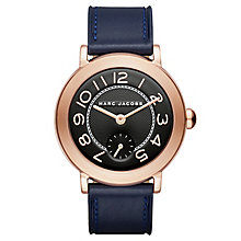 Marc Jacobs Riley Ladies' Rose Gold Tone Strap Watch - Product number 6415490