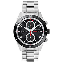 MontBlanc Timewalker Men's Stainless Steel Bracelet Watch - Product number 6415628