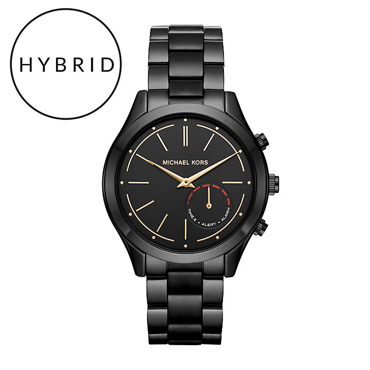Michael Kors Access Slim Runway Black Tone Hybrid Smartwatch - Product number 6417167