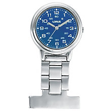 Lorus Blue Fob Watch - Product number 6419259