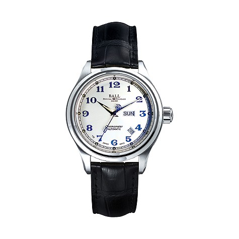 Ball Trainmaster men's automatic  strap watch