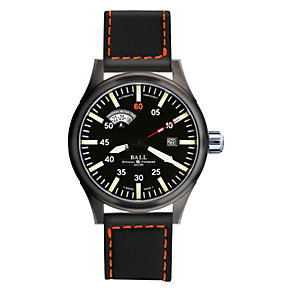 Ball Fireman Night Train men's automatic black strap watch - Product number 6421660