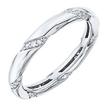 9ct White Gold 0.20ct Diamond Band Ring - Product number 6421792