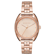Michael Kors Libby Ladies' Rose Gold Tone Bracelet Watch - Product number 6425933