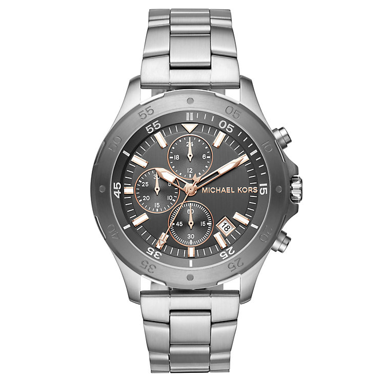 Michael Kors Walsh Men's Stainless Steel Bracelet Watch - Product number 6426042