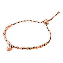 Michael Kors Rose Gold Tone Beaded Bracelet - Product number 6426255
