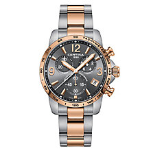 Certina DS Podium Men's Two Colour Strap Watch - Product number 6426522