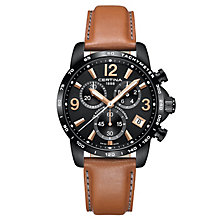 Certina DS Podium Men's Ion Plated Strap Watch - Product number 6426530