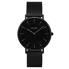Cluse Ladies' La Bohème Black Mesh Bracelet Watch - Product number 6426964