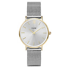 Cluse Ladies' Minuit Stainless Steel Mesh Bracelet Watch - Product number 6427219