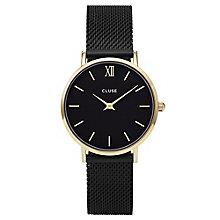 Cluse Ladies' Minuit Black Mesh Bracelet Watch - Product number 6427235