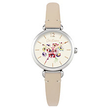 Cath Kidston White Dial Pink Leather Strap Watch - Product number 6428231