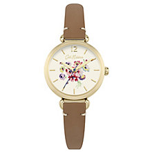 Cath Kidston White Dial Tan Leather Strap Watch - Product number 6428266