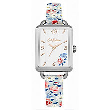 Cath Kidston Blue PU White Dial Strap Watch - Product number 6428290