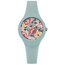 Cath Kidston Teal Silicone Strip Watch - Product number 6428320