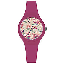 Cath Kidston Pink Silicone Strap Watch - Product number 6428339