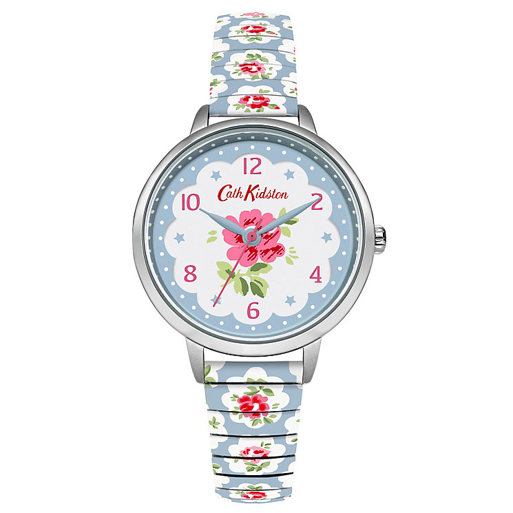 Cath Kidston Blue Stainless Steel Strap Watch - Product number 6428355