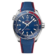Omega Limited Edition Speedmaster Men's Blue Strap Watch - Product number 6428460