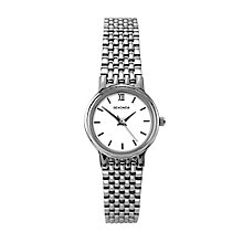 Sekonda Ladies' Stainless Steel White Dial Bracelet Watch - Product number 6429947