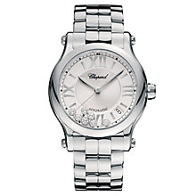 Chopard Happy Sport Ladies' Stainless Steel Bracelet Watch - Product number 6431933