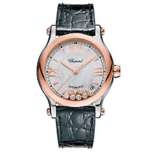 Chopard Happy Sport Ladies' Two Colour Strap Watch - Product number 6431984