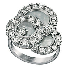 Chopard Happy Diamond 18ct White Gold 1.92ct Diamond Ring - Product number 6432417