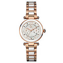 Gc Ladies' LadyChic Ceramic and Steel Bracelet Watch - Product number 6440223