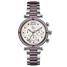 Gc Ladies' CableChic Two Tone Stainless Steel Bracelet Watch - Product number 6440266