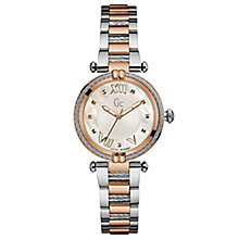 Gc Ladies' CableChic Two Tone Stainless Steel Bracelet Watch - Product number 6440320