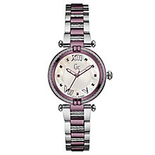 Gc Ladies' CableChic Two Tone Stainless Steel Bracelet Watch - Product number 6440355