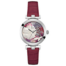 Gc Ladies' LadyBelle Pink Leather Strap Watch - Product number 6440517