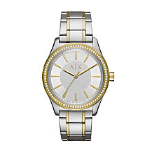 Armani Exchange Ladies' Two Tone Stainless Steel Watch - Product number 6440835
