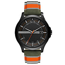 Armani Exchange Men's Multi Colour Fabric Strap Watch - Product number 6440851