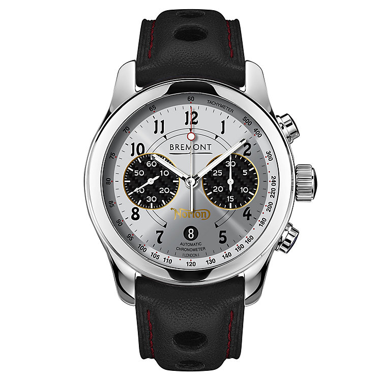 Bremont Norton V4 Men's Stainless Steel Strap Watch - Product number 6440991