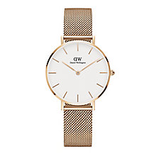 Daniel Wellington Ladies' Rose Gold Plated Bracelet Watch - Product number 6453066