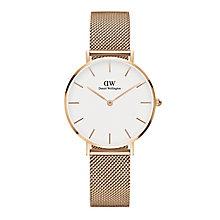 Daniel Wellington Ladies' Rose Gold Plated Bracelet Watch - Product number 6453066