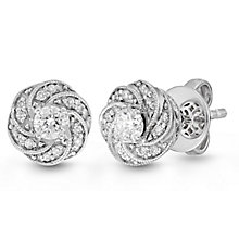 Neil Lane Bridal 14ct White Gold 0.29ct Diamond Earrings - Product number 6453295
