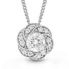 Neil Lane Bridal 14ct White Gold 0.35ct Diamond Pendant - Product number 6453309