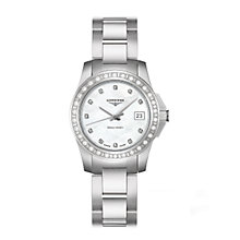 Longines Conquest ladies' stainless steel bracelet watch - Product number 6463738