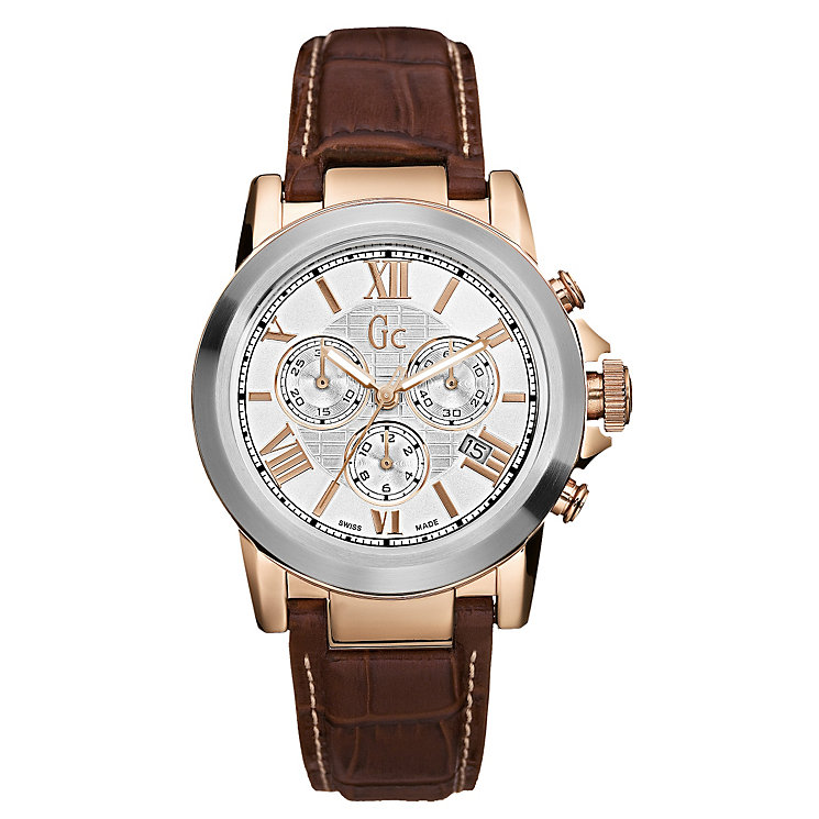 Gc men's two colour chronograph watch - Product number 6463827