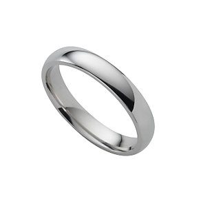Platinum super heavy 4mm wedding ring - Product number 6471781