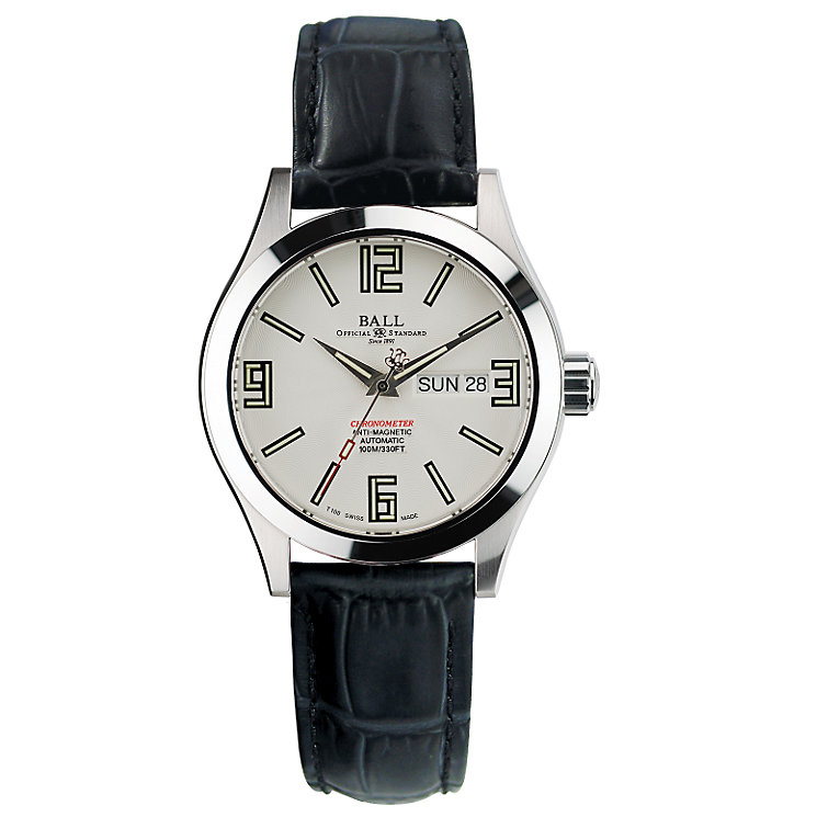 Ball Engineer Master men's black leather strap watch - Product number 6472826