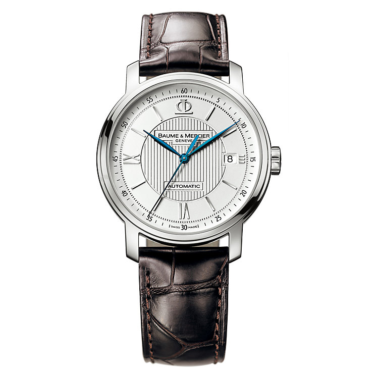 Baume & Mercier Classima brown leather strap watch - Product number 6472915